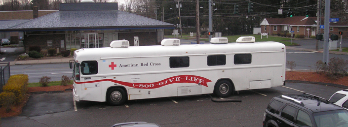 American Red Cross Newington CT Blood Mobile